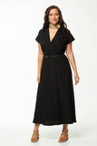Vesta Greta Dress - Black