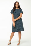 Vesta Fantail Dress - Starry Night was $248 now $188