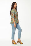 Vesta Juliet Top- Sunflower