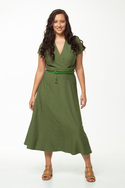 Vesta Greta Dress - Sage