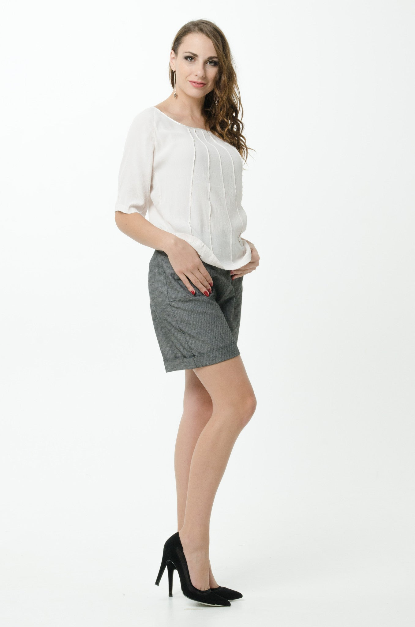 Vesta Pintuck Top - Vintage was $178 now $128
