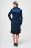 Vesta Trench Coat - Navy was $298 now $268