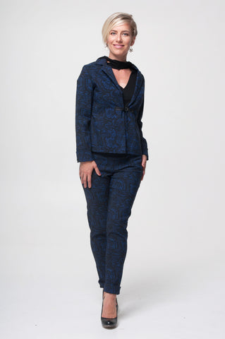 Vesta Clasped Jacket - Blue Lace was $248 now $198