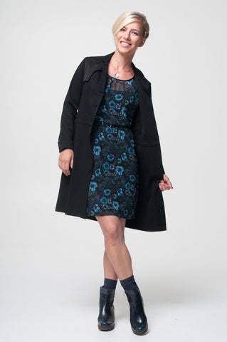 Vesta Trench Coat - Black was $298 now $268