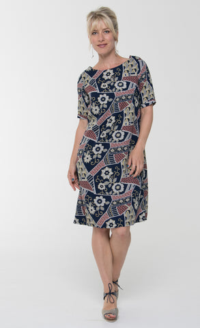 Vesta Jigsaw Dress - Blueprint was $198 now $148