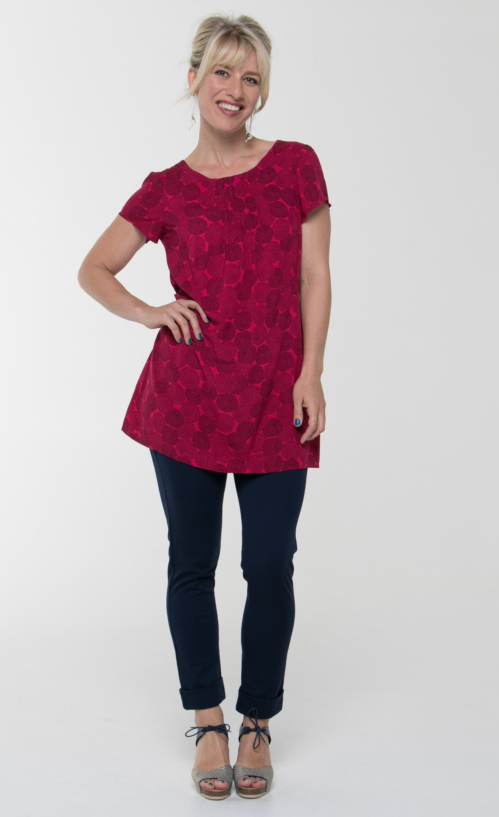 Vesta 5 Pin Top - Raspberry