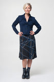 Vesta Trench Jacket - Navy was $268 now $248