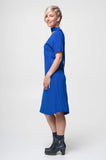 Vesta Virginia Dress - Cobalt was $228 now $198