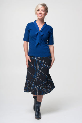 Vesta Virginia Top - Cobalt was $178 now $148