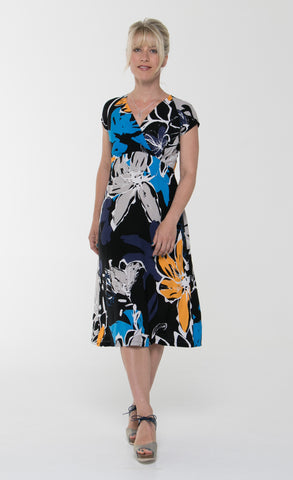 Vesta Frida Dress - Zinnia was $148 now $168