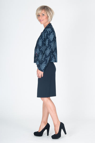Vesta Mary Lennox Jacket - Navy was $228 now $198