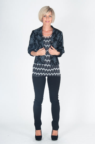 Vesta Mary Lennox Jacket - Black was $228 now $198