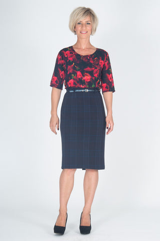 Vesta Pencil Skirt - Hitchhiker was $168 now $148