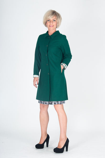 Vesta Winter Coat - Emerald was $350 now $298