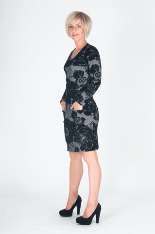 Vesta Miss Sixties Dress - Black and White was $198 now $178