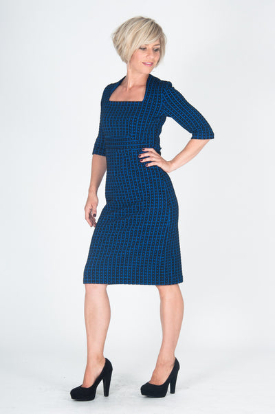 Vesta Grid Player Dress - Skipper was $228 now $188