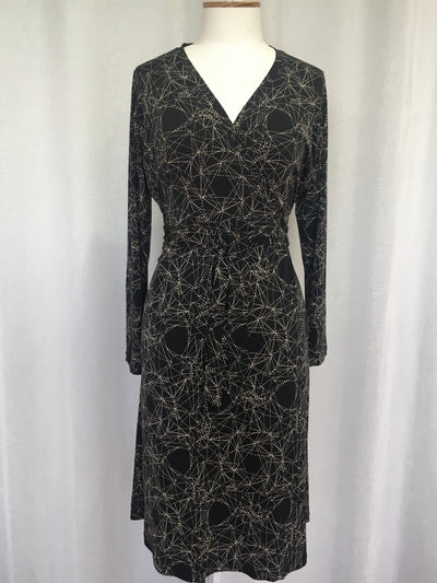 Vesta Wrap Dress - Astral was $228 now $188