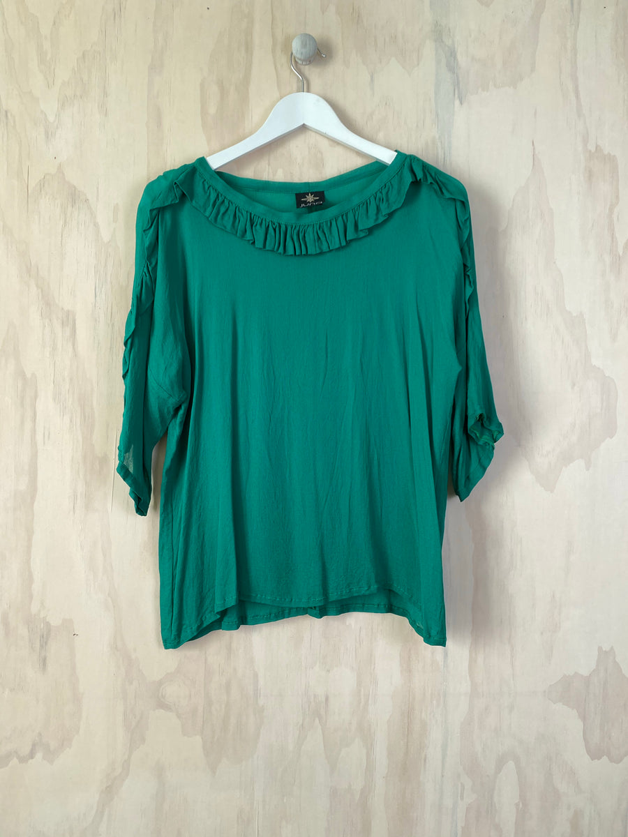Sample Kimodo Top - Emerald