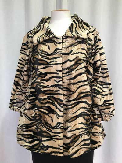 Vesta Fur Jacket - Tiger