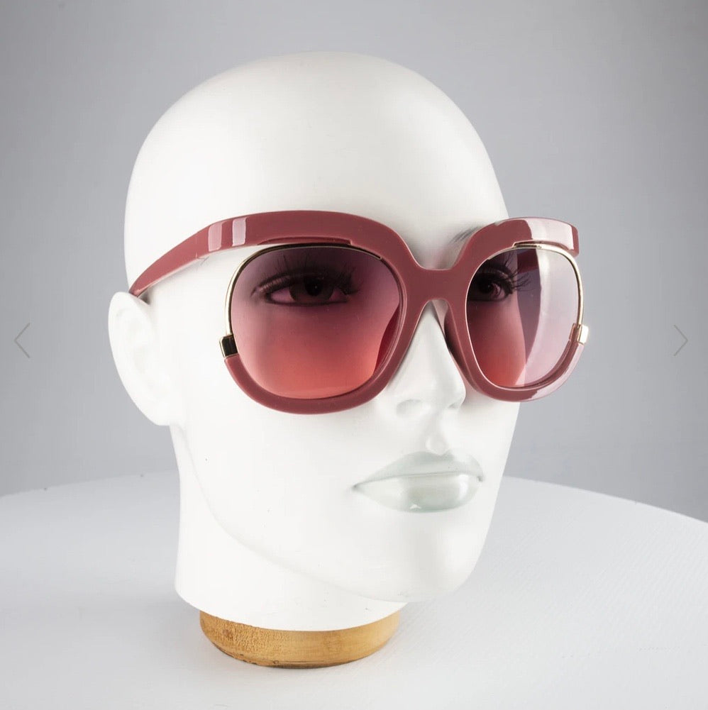 Happy to sit on ya face SUNGLASSES - Loren ROSE
