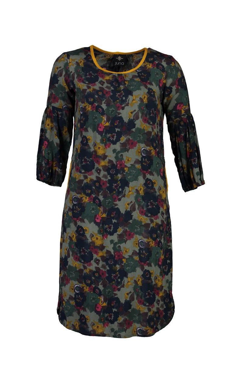 Juna Floral Camo Bounce Dress