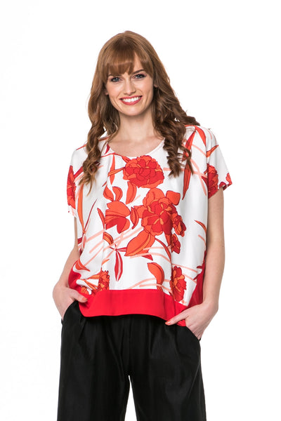 Juna Triptych Top - Flame