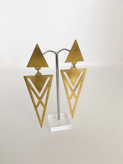 Dude Suit Earrings by Banshee the Valkyrie