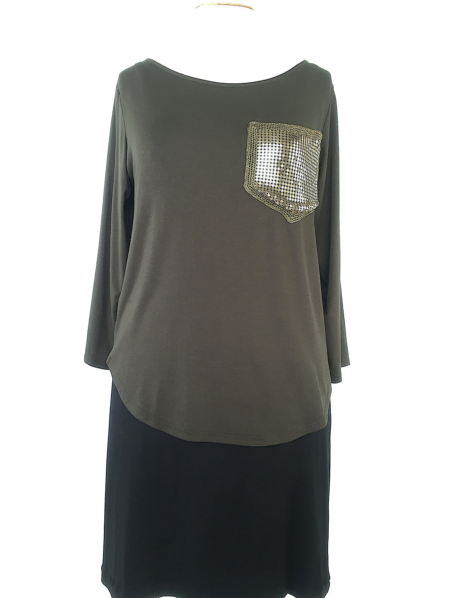 Sabatini Glowmesh Top  - Sage