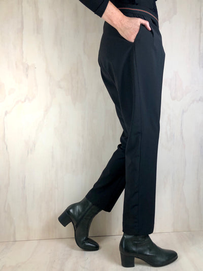 Juna Tinker Trousers - Black Wool