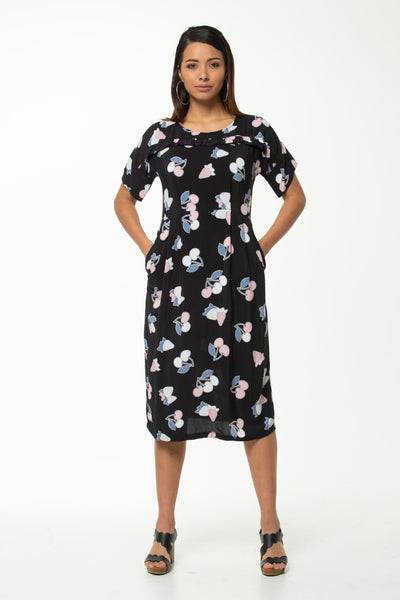 Juna Florence Dress - Cherry Rufrill