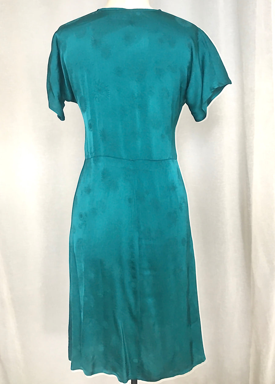 Vesta Virginia Tie Dress - Jade