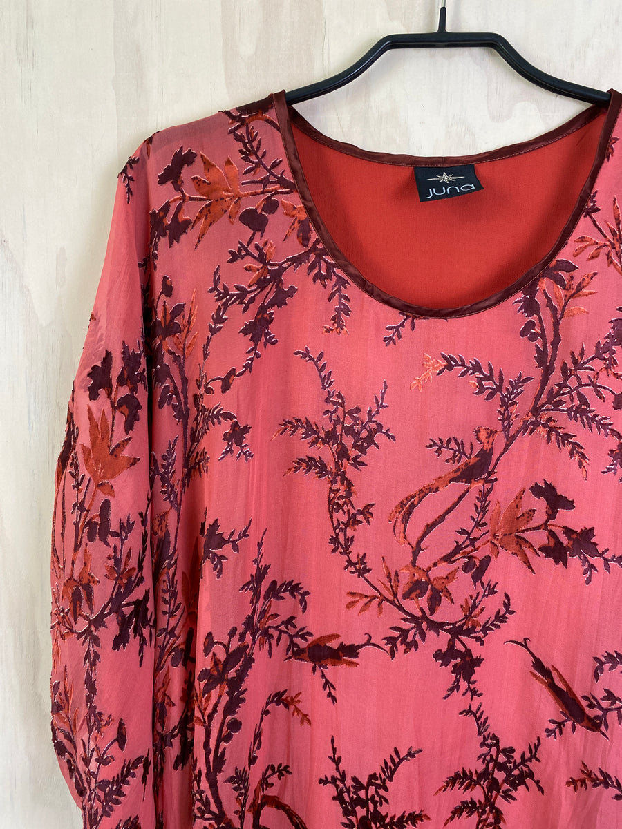 Juna Silk T - Rose Bird