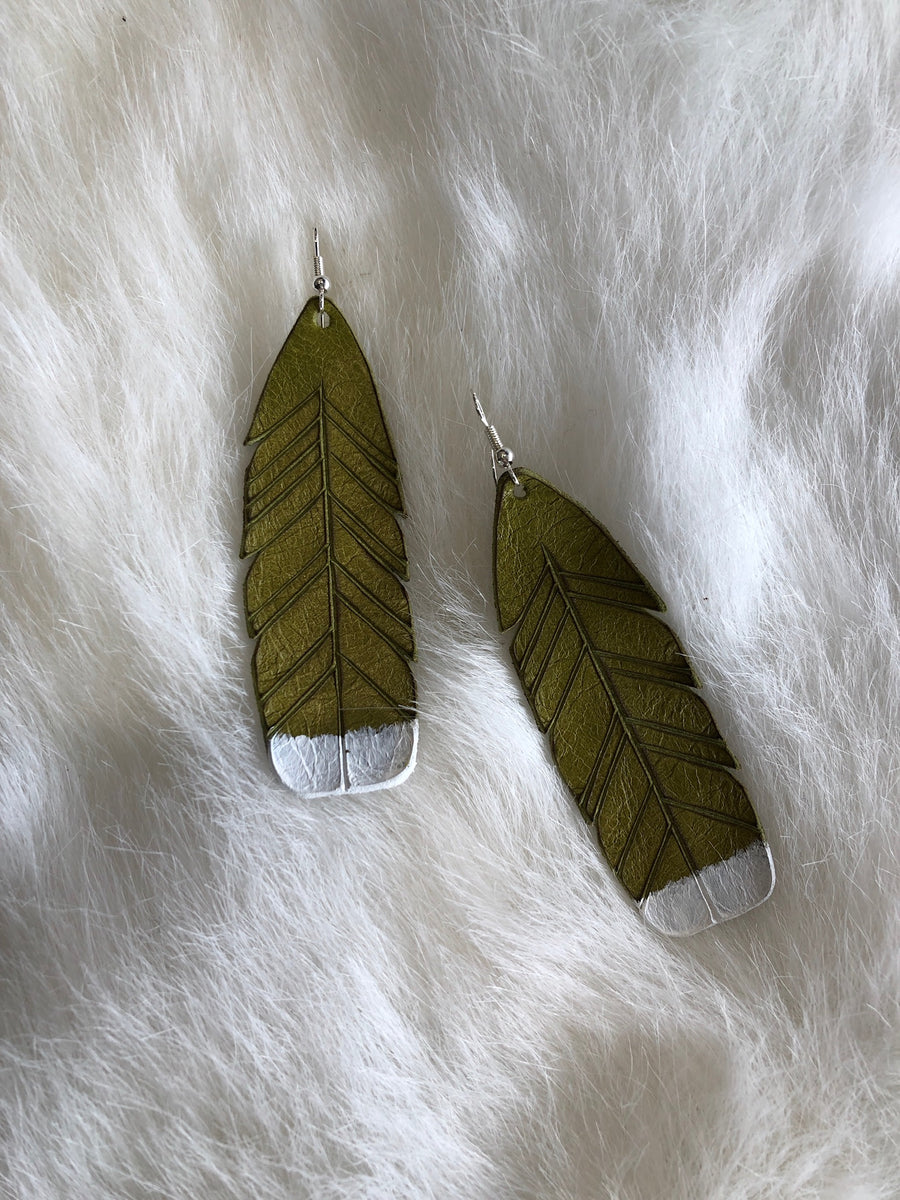 Huia Earrings - Ink