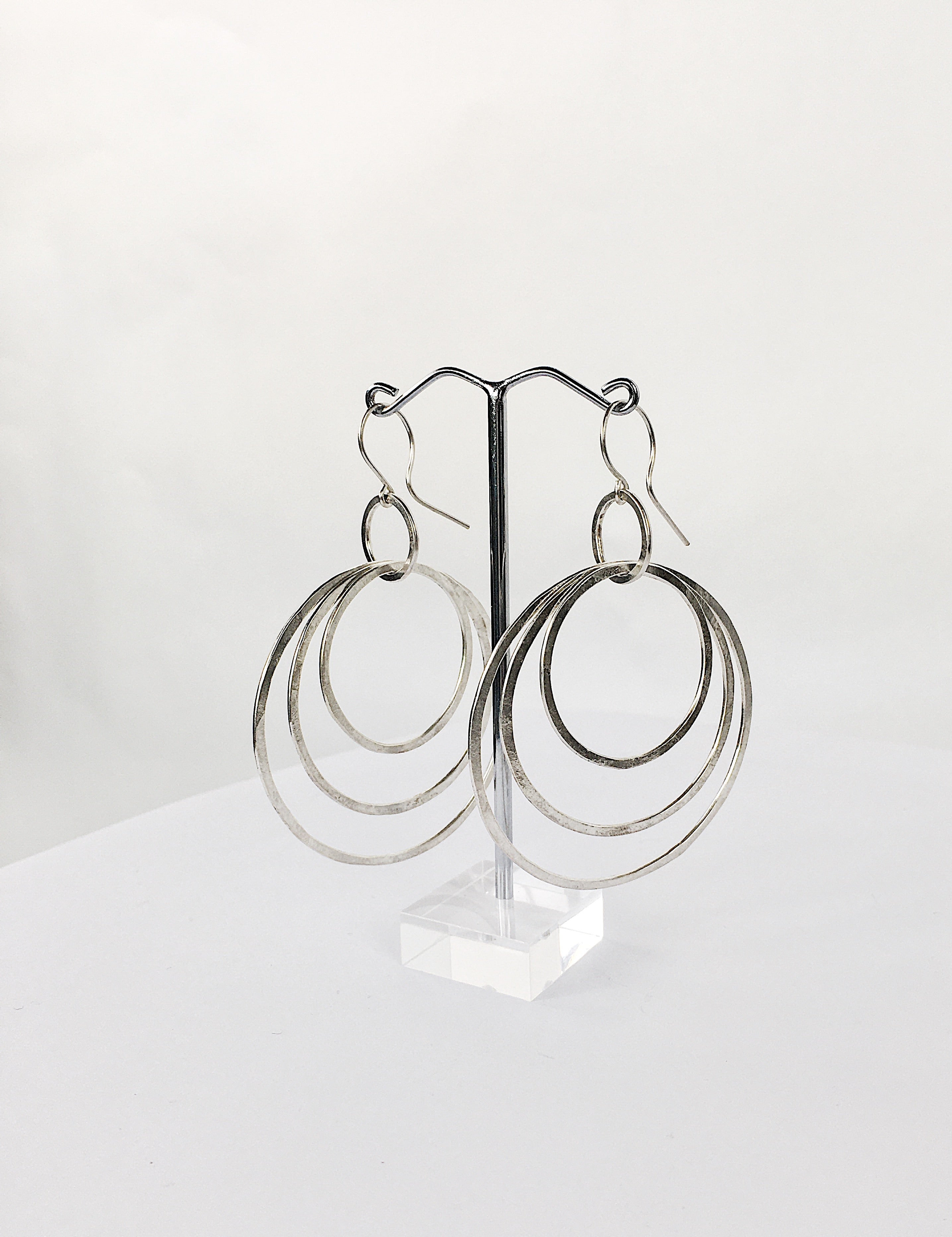 Triple Ripple Earrings