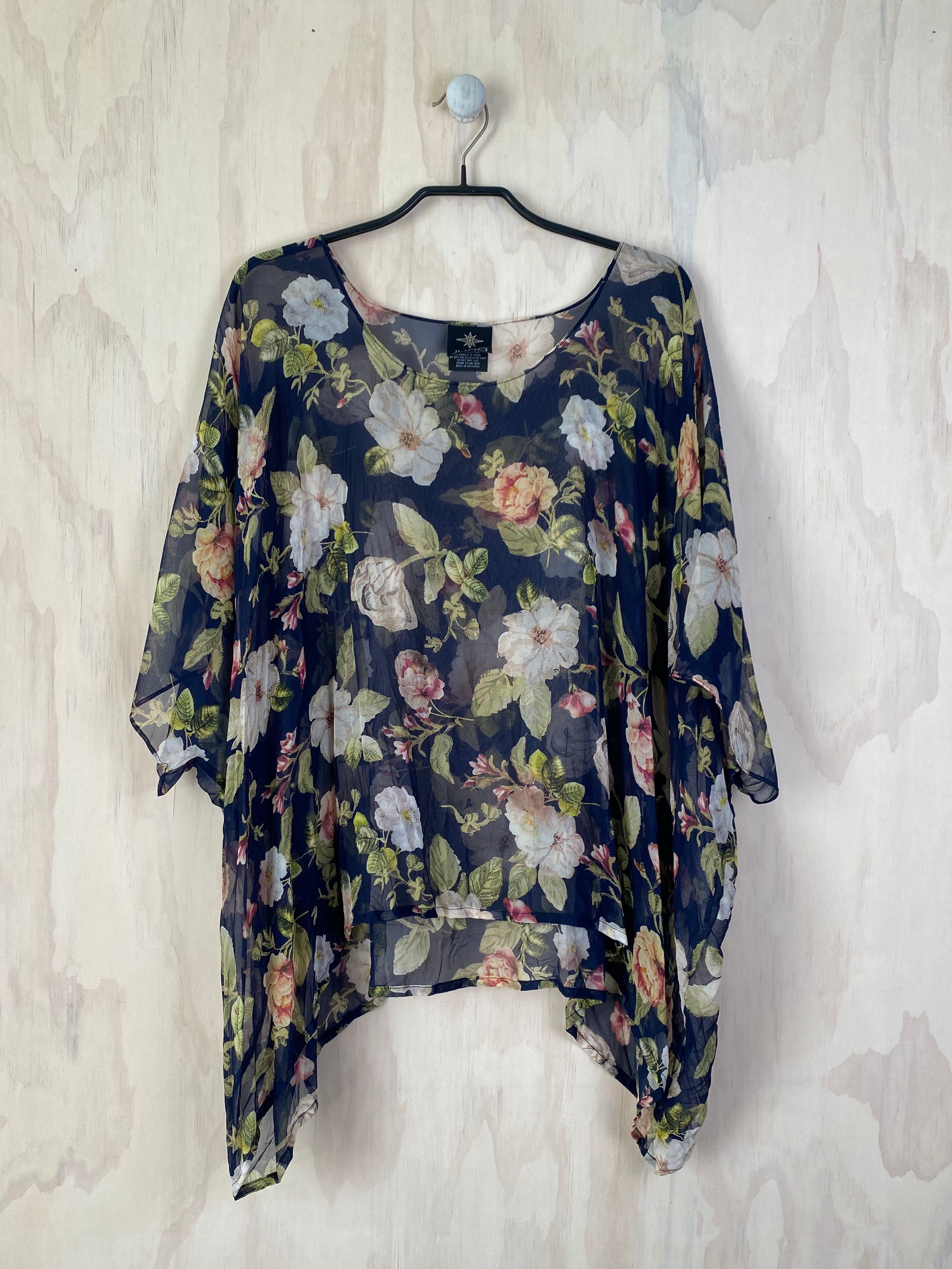 Juna Silk T - Rose