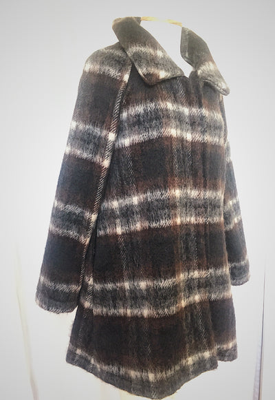 Vesta Mohair Jacket - Checked was $288 now $228