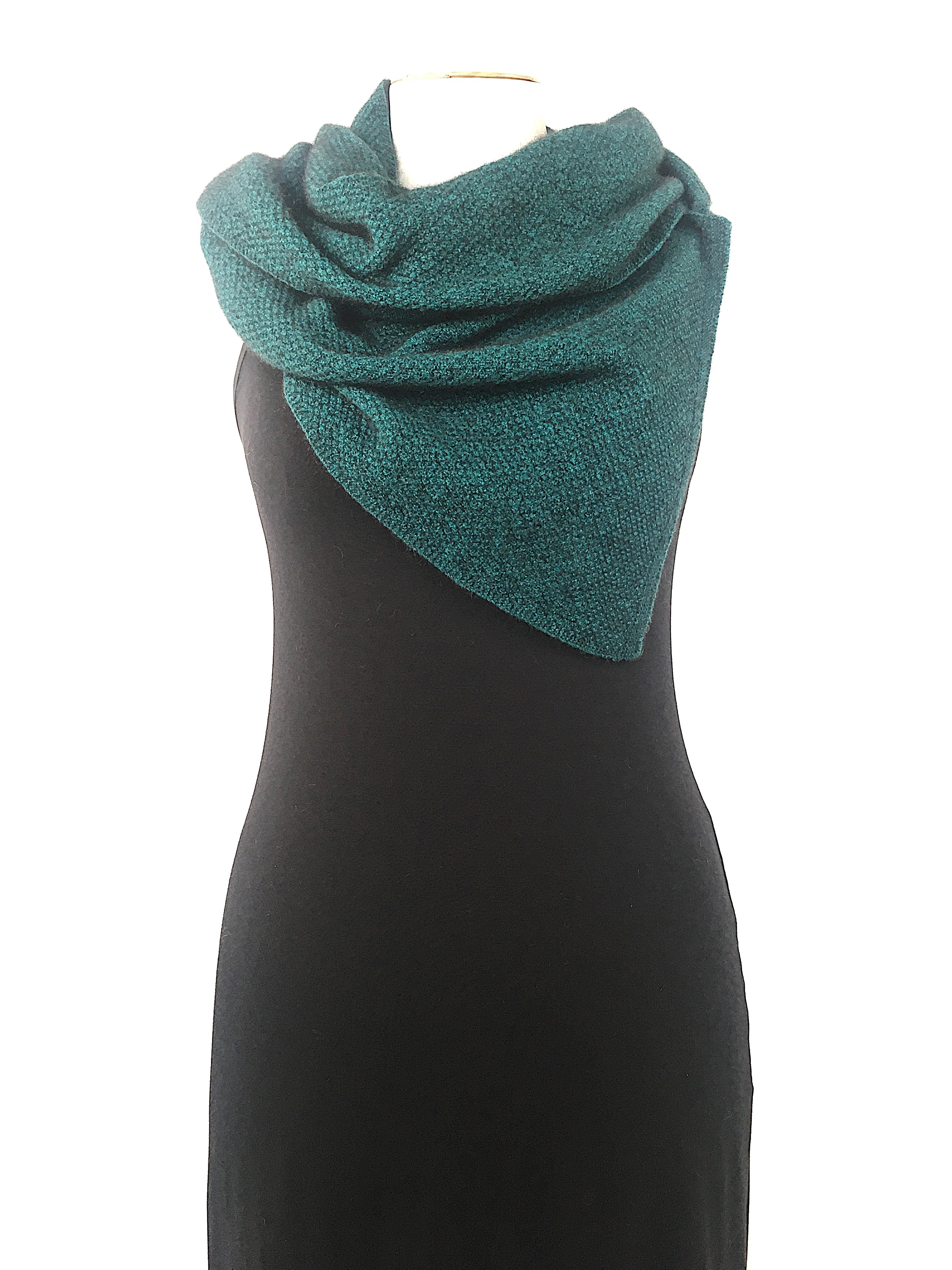 Noble Wilde Moss Monti Scarf - Paua