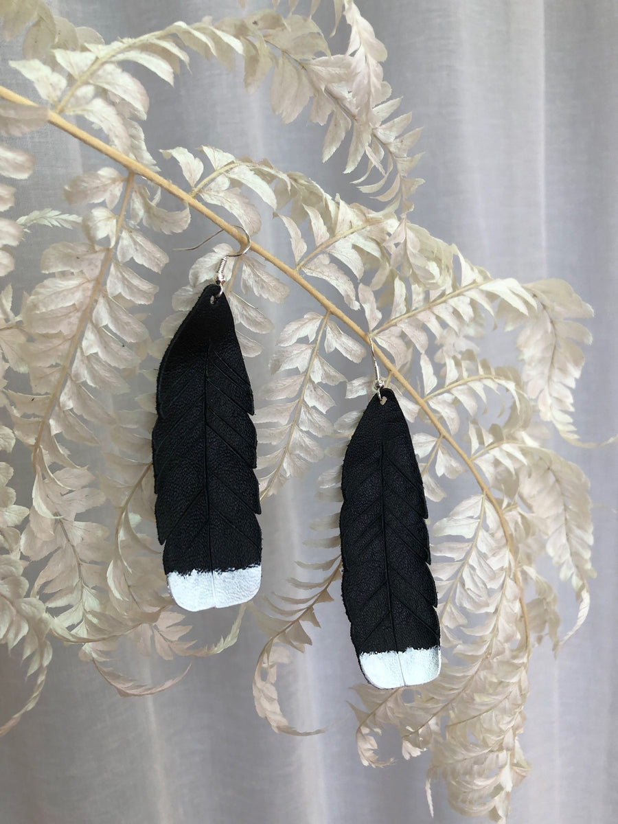 Huia Earrings - Black