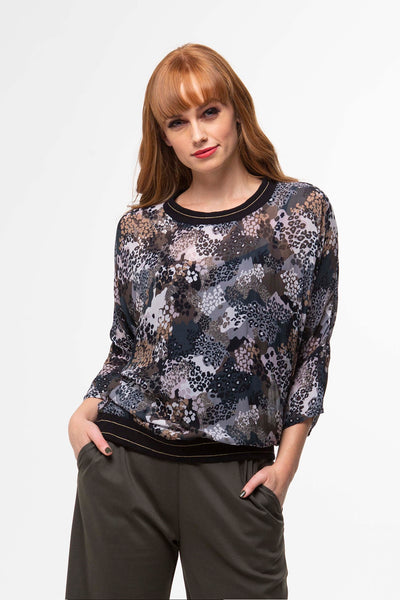 Juna Papillion Top - Pebble