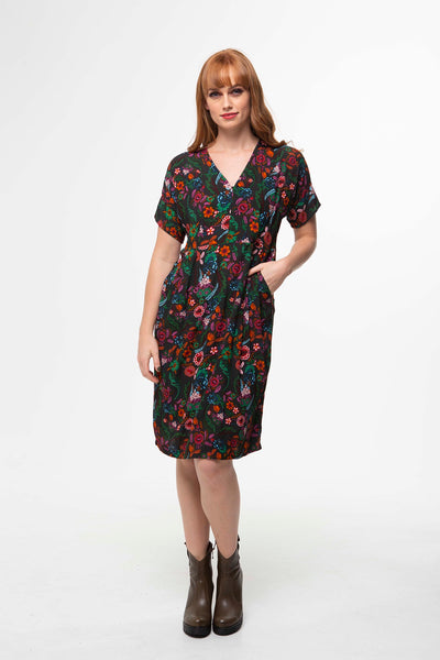 Juna Florence Dress - Sylvan