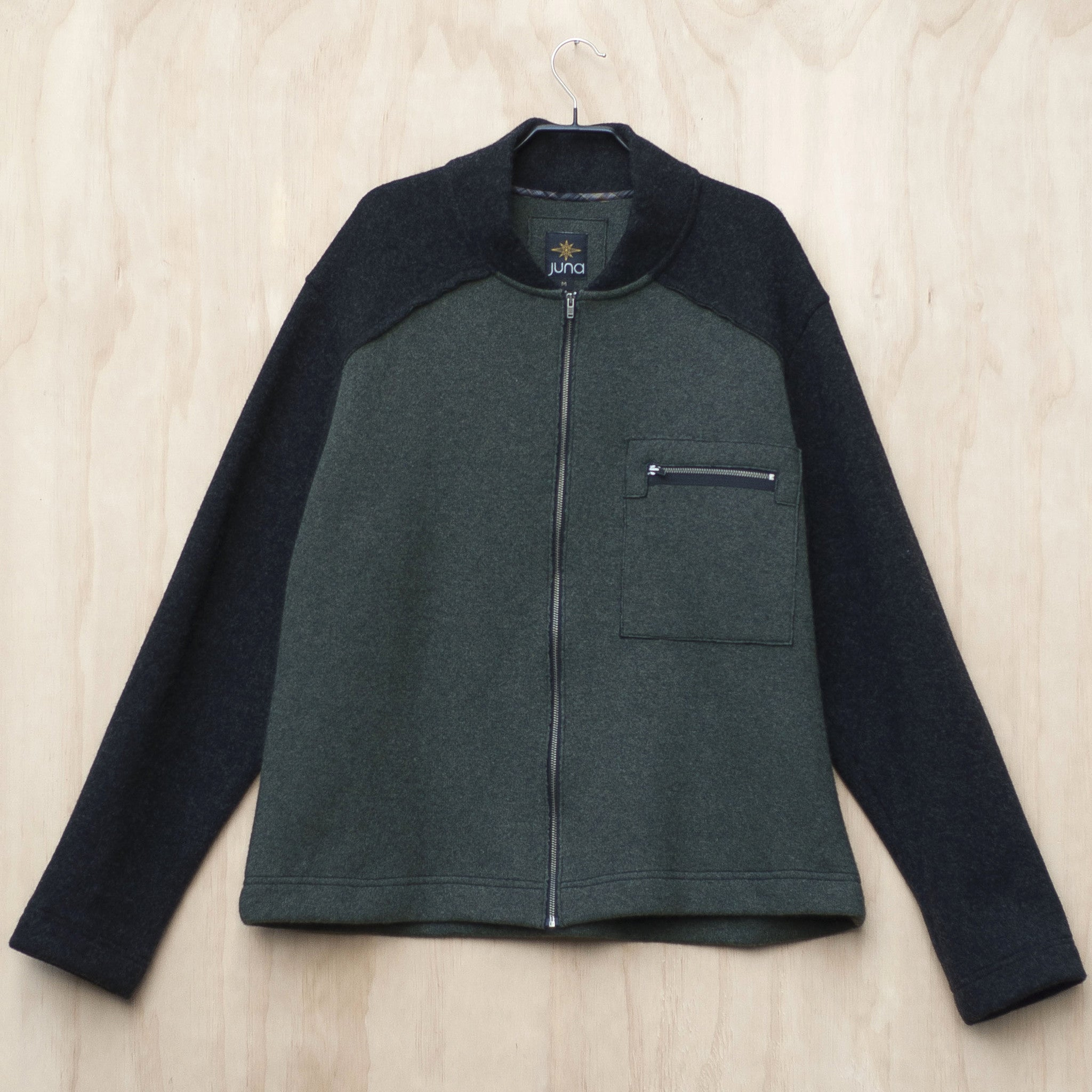 Juna Menswear Hakanoa Jacket - Green