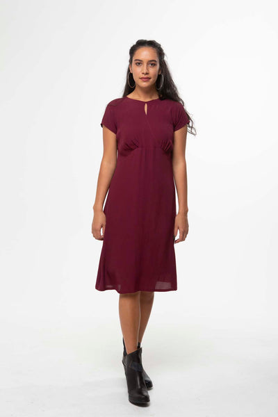 Vesta Melissa Dress - Magenta was $248 now $188