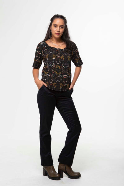 Vesta Boho  Top - Gilt