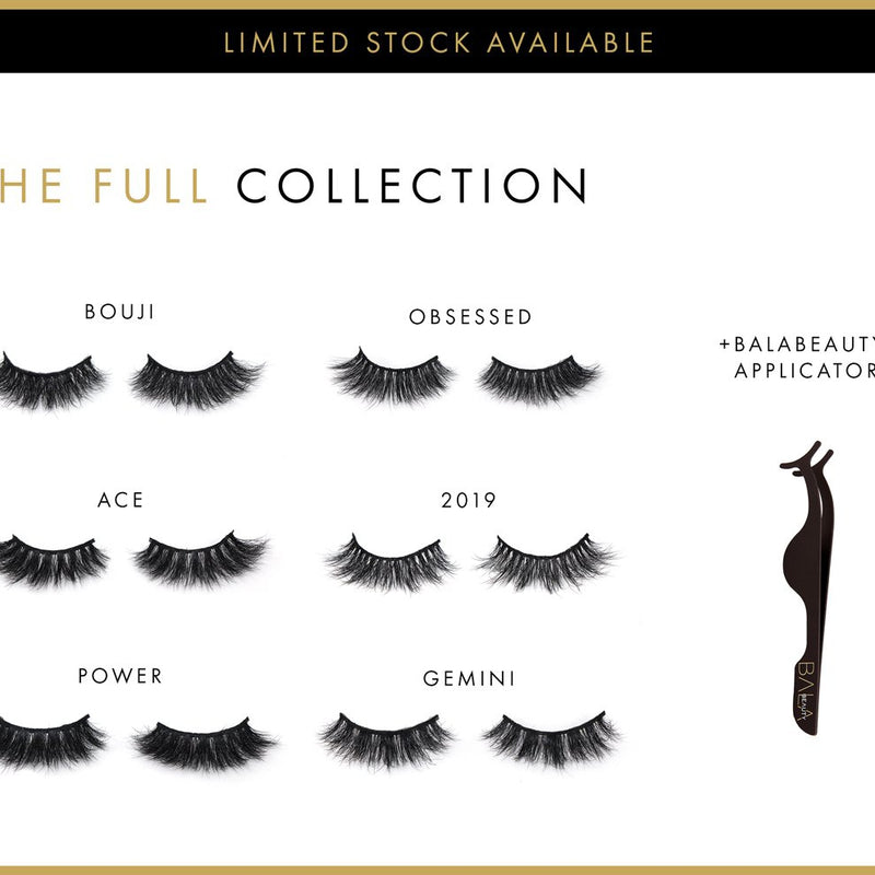 The Full BALABEAUTY Lash Collection