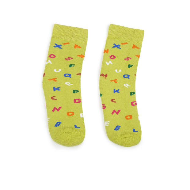 4-8 Years Alphabet Kids Socks