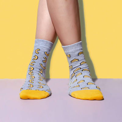 Mac & Cheese Socks