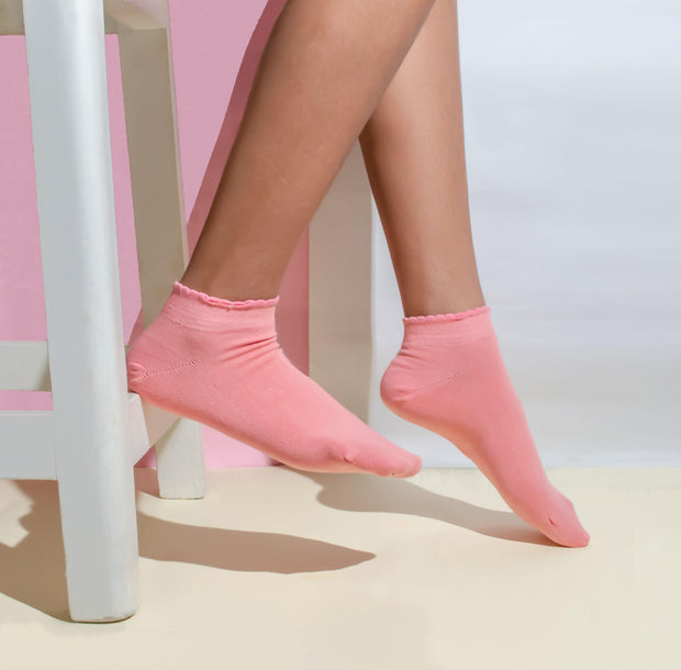 Pink Blush Socks