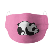 Lazy Panda Cotton Face Mask Free Size Unisex