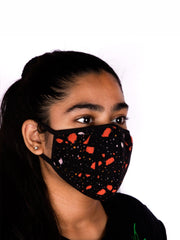 Shatter Knitted Mask