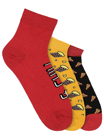 Movie Night Pack of 3 Socks